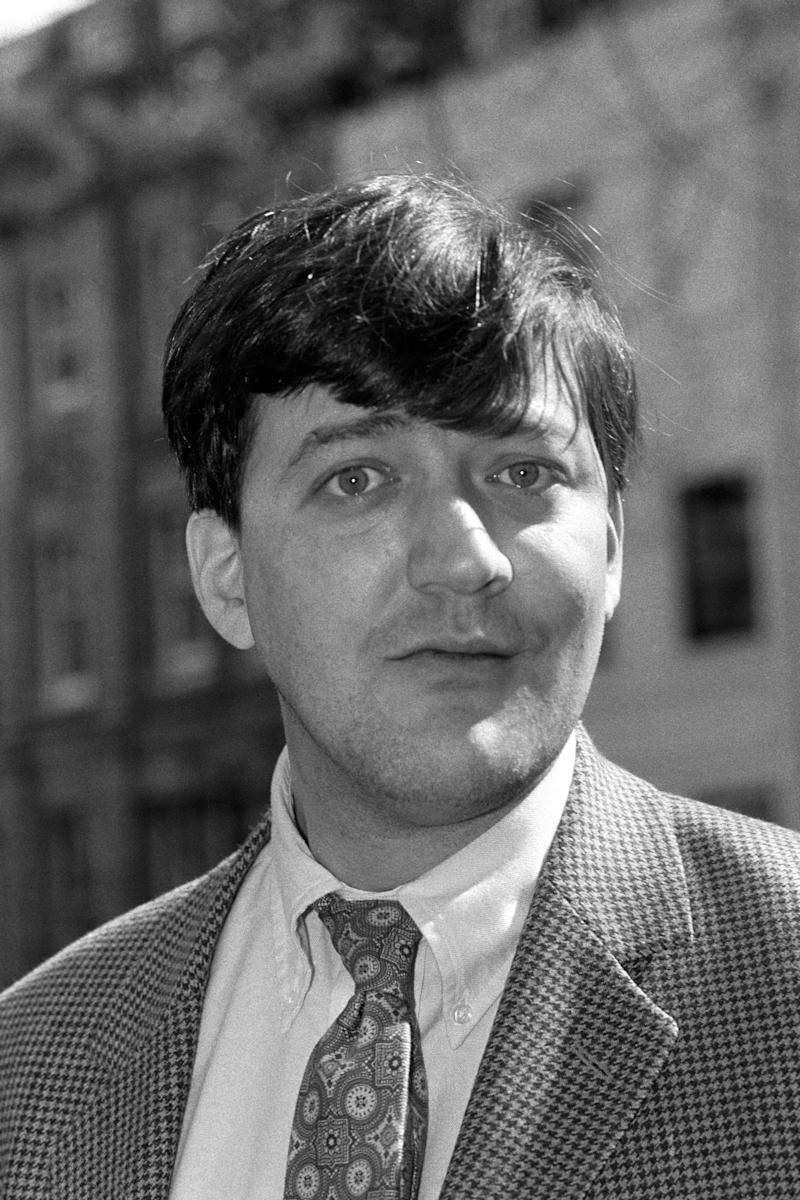 Comedian, writer and actor, Stephen Fry