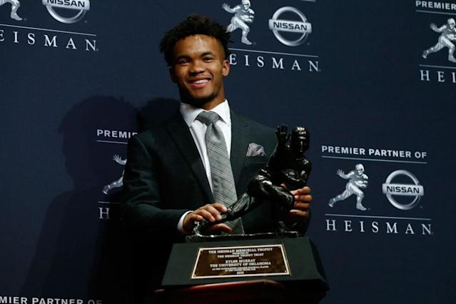 Could Kyler Murray go baseball or football? (Getty)