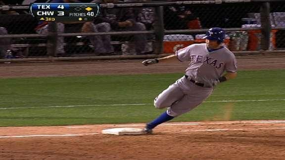 Ian Kinsler gets inside-the-park home run after ball disappears at U.S. Cellular Field