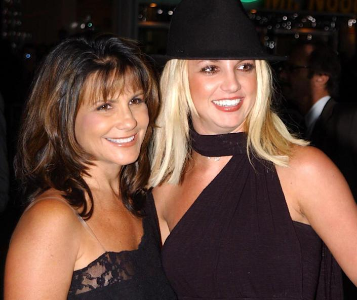 Britney Spears and Lynne Spears