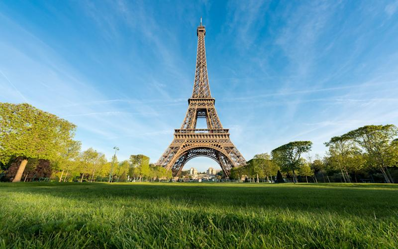 The Eiffel Tower could change colour over the next couple of years - Prasit