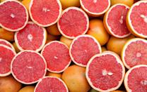 "<p>Like other citrus, grapefruit packs tons of vitamin C. <a href=""https://www.ncbi.nlm.nih.gov/pubmed/22304836"" rel=""nofollow noopener"" target=""_blank"" data-ylk=""slk:Research"" class=""link rapid-noclick-resp"">Research</a> has shown that consuming grapefruit improves blood pressure and may help to lower cholesterol levels. Make it easy to get those citrusy sections with a <a href=""https://www.amazon.com/Grapefruit-Micro-serrated-Stainless-Lightweight-Dishwasher/dp/B00DZP6GUA/ref=sr_1_6?tag=syn-yahoo-20&ascsubtag=%5Bartid%7C10055.g.28511617%5Bsrc%7Cyahoo-us"" rel=""nofollow noopener"" target=""_blank"" data-ylk=""slk:grapefruit knife"" class=""link rapid-noclick-resp"">grapefruit knife</a> and add them to salad, yogurt, granola or oatmeal. </p><p><strong>RELATED: </strong><a href=""https://www.goodhousekeeping.com/health/diet-nutrition/g4840/how-to-lower-cholesterol/"" rel=""nofollow noopener"" target=""_blank"" data-ylk=""slk:35 Foods That Can Help Lower Your Cholesterol"" class=""link rapid-noclick-resp"">35 Foods That Can Help Lower Your Cholesterol</a></p>"