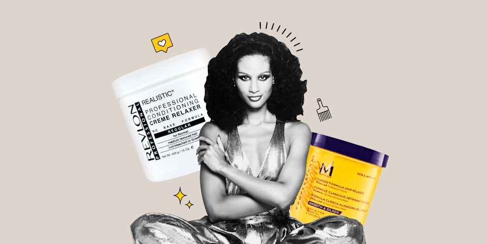 """<p class=""""body-dropcap"""">First things first: No one <em>needs</em> a hair relaxer—but if you want one, you definitely shouldn't feel embarrassed about it. Ever since the natural hair movement blew up on the internet—which, FYI, is a great thing—some people might feel a little ashamed when it comes to relaxing their hair, or even <em>thinking</em> about relaxing their hair. But I'm here to tell you that <strong>the decision to <a href=""""https://www.cosmopolitan.com/style-beauty/beauty/a26872115/relaxed-hair-vs-natural-hair-brianna-wigfall/"""" rel=""""nofollow noopener"""" target=""""_blank"""" data-ylk=""""slk:relax your hair"""" class=""""link rapid-noclick-resp"""">relax your hair</a> is 100 percent personal</strong>. Only you know what's best for you, and if that means trying a relaxer, you shouldn't be afraid to go all out. And if you're looking for the best at-home relaxer to try RN, you're in luck. Keep reading for everything you should know, plus, the best kits worth your $$$. </p><h2 class=""""body-h2"""">What does relaxer do to your hair?</h2><p>If you want straighter hair for whatever reason (maybe you always <a href=""""https://www.cosmopolitan.com/style-beauty/beauty/g12837010/best-hair-straightener-flat-iron/"""" rel=""""nofollow noopener"""" target=""""_blank"""" data-ylk=""""slk:flat-iron"""" class=""""link rapid-noclick-resp"""">flat-iron</a> your hair anyways or you want to get your hair wet without stressing about your natural texture), a hair relaxer is def an option to consider. Reminder: <strong>Relaxers are</strong> <strong>cream- or lotion-based formulas that chemically—and permanently—break down the bonds in your hair to alter its structure,</strong> <strong>leaving it straight for up to eight weeks. </strong></p><p>Here's the thing, though: Getting your hair relaxed by a professional is typically the best option, especially since relaxers are filled with super-intense chemicals that can lead to breakage and burning if used incorrectly. That means if you've never, ever tried a relaxer before, <em>maybe</em"""