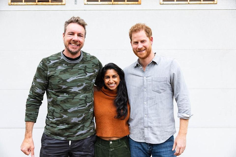 Prince Harry's latest interview on the Armchair Expert podcast has stirred up controversy. Photo: Instagram/armchairexppod.