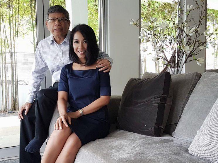 Nadia Marican believes that her father has the qualities to become a good President. Photo: Safhras Khan/Yahoo Singapore
