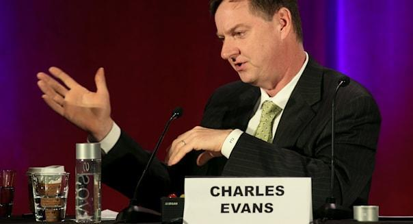 Charles Evans president federal reserve bank chicago stimulus bond buying interest rates wall street