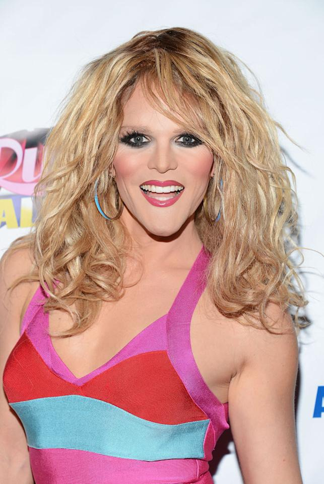 "Willam Belli arrives at the ""RuPaul's Drag Race: All Stars"" Premiere Party at The Abbey on October 16, 2012 in West Hollywood, California."