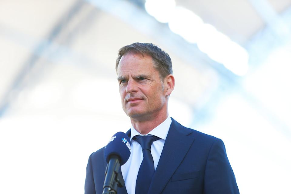 Frank de Boer will be expecting a win over Ukraine (Getty Images)