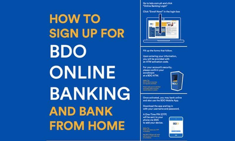 BDO urges clients to bank from home amid Covid-19