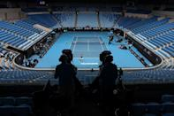 The Australian Open will proceed behind closed doors for the next five days