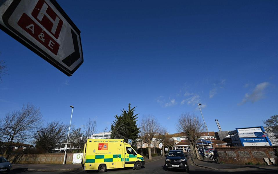 The figures include 6,000 people who did not attend A&E at the height of lockdown because of fears they might catch the virus - Glyn Kirk/AFP