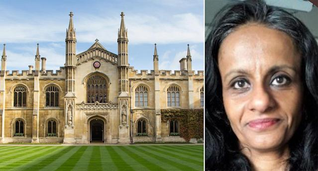 Cambridge University is defending Dr Priyamvada Gopal after the academic received a torrent of abuse for posting a series of tweets. (PA)
