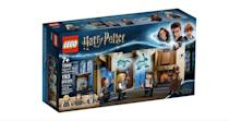 <p>The <span>Lego Harry Potter Hogwarts Room of Requirement Set</span> ($20, available on July 1) has 193 pieces and is best suited for kids ages 7 and up.</p>