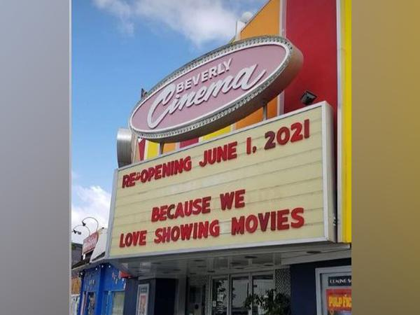 Picture posted by New Beverly Cinema (Image courtesy: Instagram)