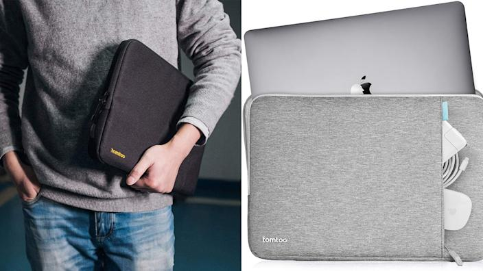 Best gifts for teen boys: Tomtoc 360 Protective Laptop Sleeve