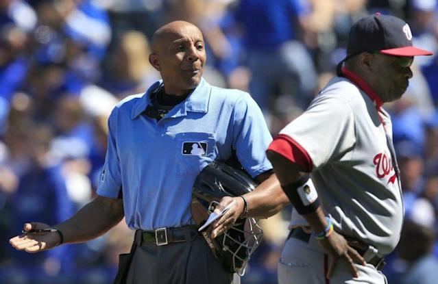 In the world of bad umpiring, CB Bucknor is now a legend. (AP)