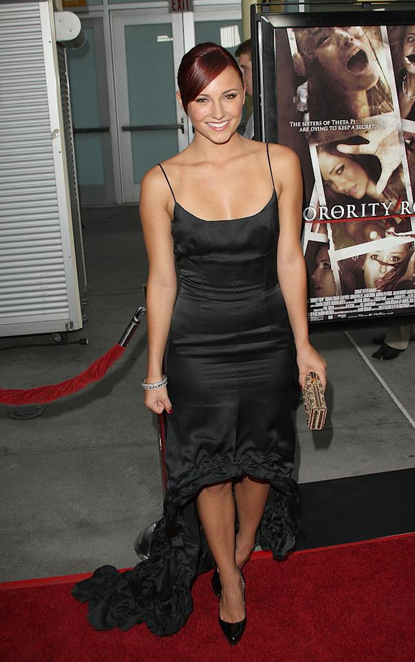 "<a href=""http://movies.yahoo.com/movie/contributor/1800270917"">Briana Evigan</a> at the Los Angeles premiere of <a href=""http://movies.yahoo.com/movie/1810046336/info"">Sorority Row</a> - 09/03/2009"