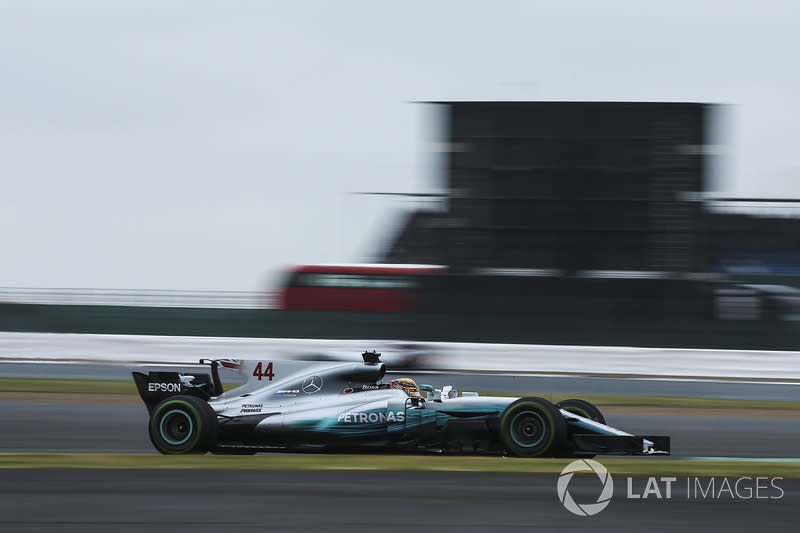 """2017: Mercedes AMG F1 W08<span class=""""copyright"""">Charles Coates / Motorsport Images</span>"""