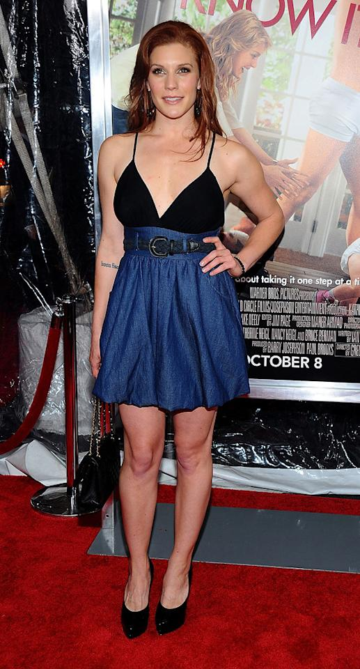 "<a href=""http://movies.yahoo.com/movie/contributor/1807530991"">Katee Sackhoff</a> at the New York City premiere of <a href=""http://movies.yahoo.com/movie/1810126237/info"">Life as We Know It</a> on September 30, 2010."
