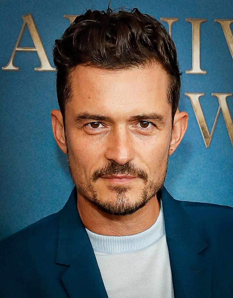 Orlando Bloom was another celb included in the section. Photo: Getty Images