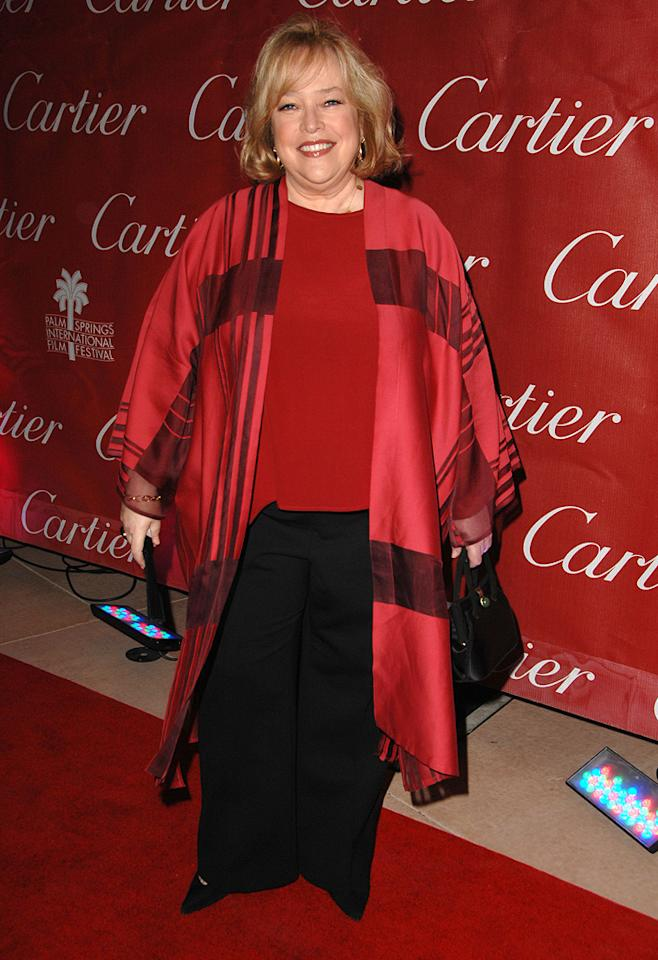 """<a href=""""http://movies.yahoo.com/movie/contributor/1800024073"""">Kathy Bates</a> at the 20th Annual Palm Springs Film Festival Gala - 01/06/2009"""