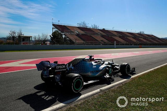 "Lewis Hamilton, Mercedes F1 W11 <span class=""copyright"">Steven Tee / Motorsport Images</span>"