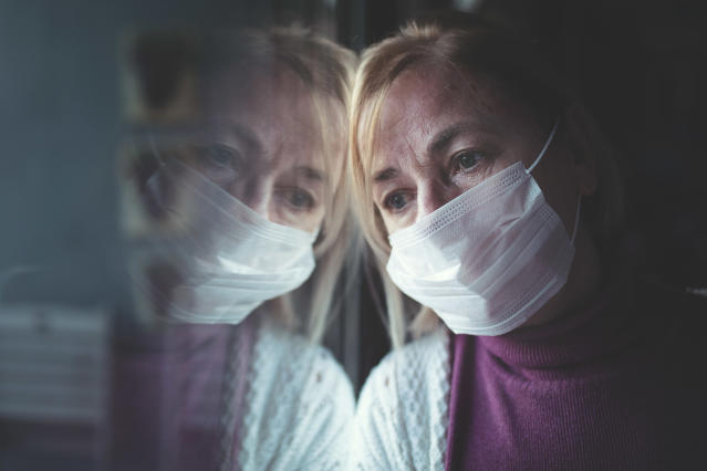Concerns have been raised about how the coronavirus could impact people's mental health. (Getty Images)