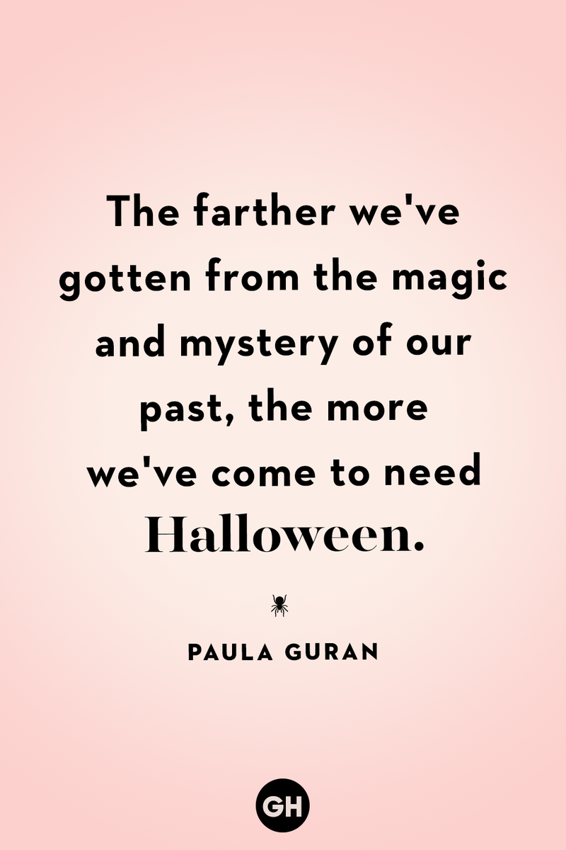 <p>The farther we've gotten from the magic and mystery of our past, the more we've come to need Halloween.</p>