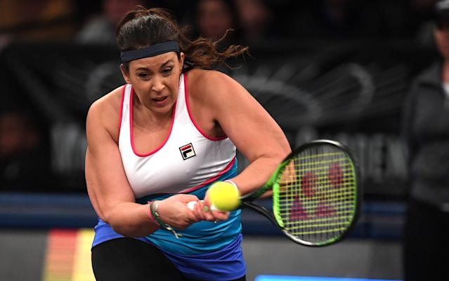Marion Bartoli returned at the Tie Break Tens in March but has since decided to abandon her comeback to the tour - AFP