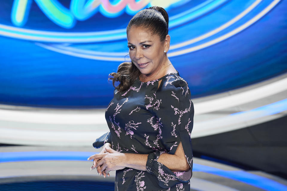MADRID, SPAIN - OCTOBER 28:  Spanish singer Isabel Pantoja attends 'Idol Kids' Tv show presentation on October 28, 2019 in Madrid, Spain. (Photo by Carlos Alvarez/Getty Images)