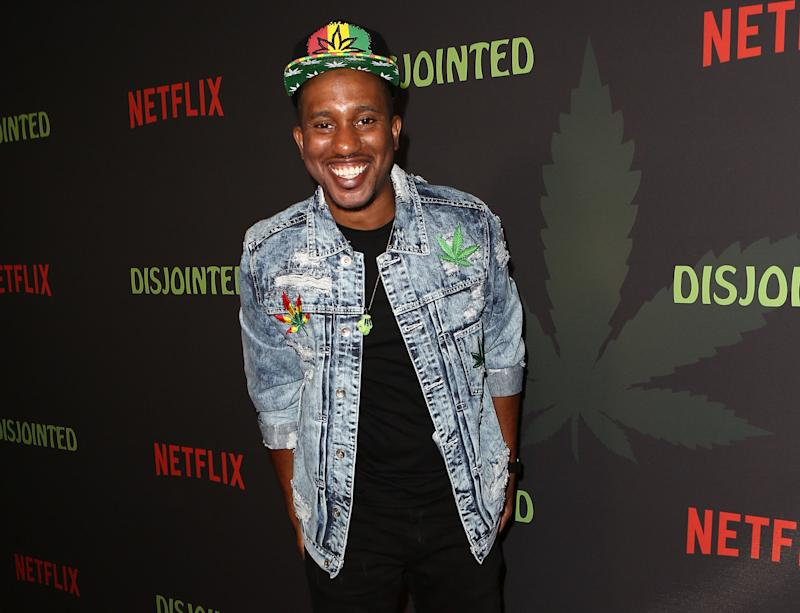 "Chris Redd, one of three new cast members on ""SNL."""