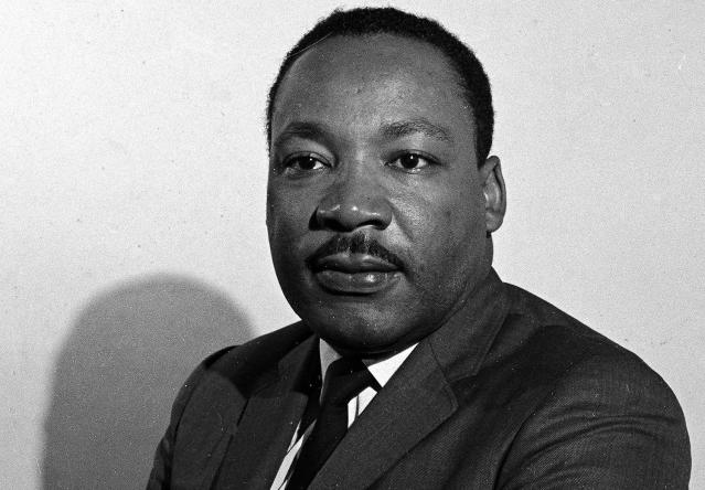 <p>Martin Luther King Jr. was born in Atlanta, Georgia on Jan. 15, 1929. Martin Luther King Jr. was a Baptist minister, activist, humanitarian, and civil rights leader who practiced peaceful non-violent civil disobedience in protest to racial inequality. (AP Photo) </p>