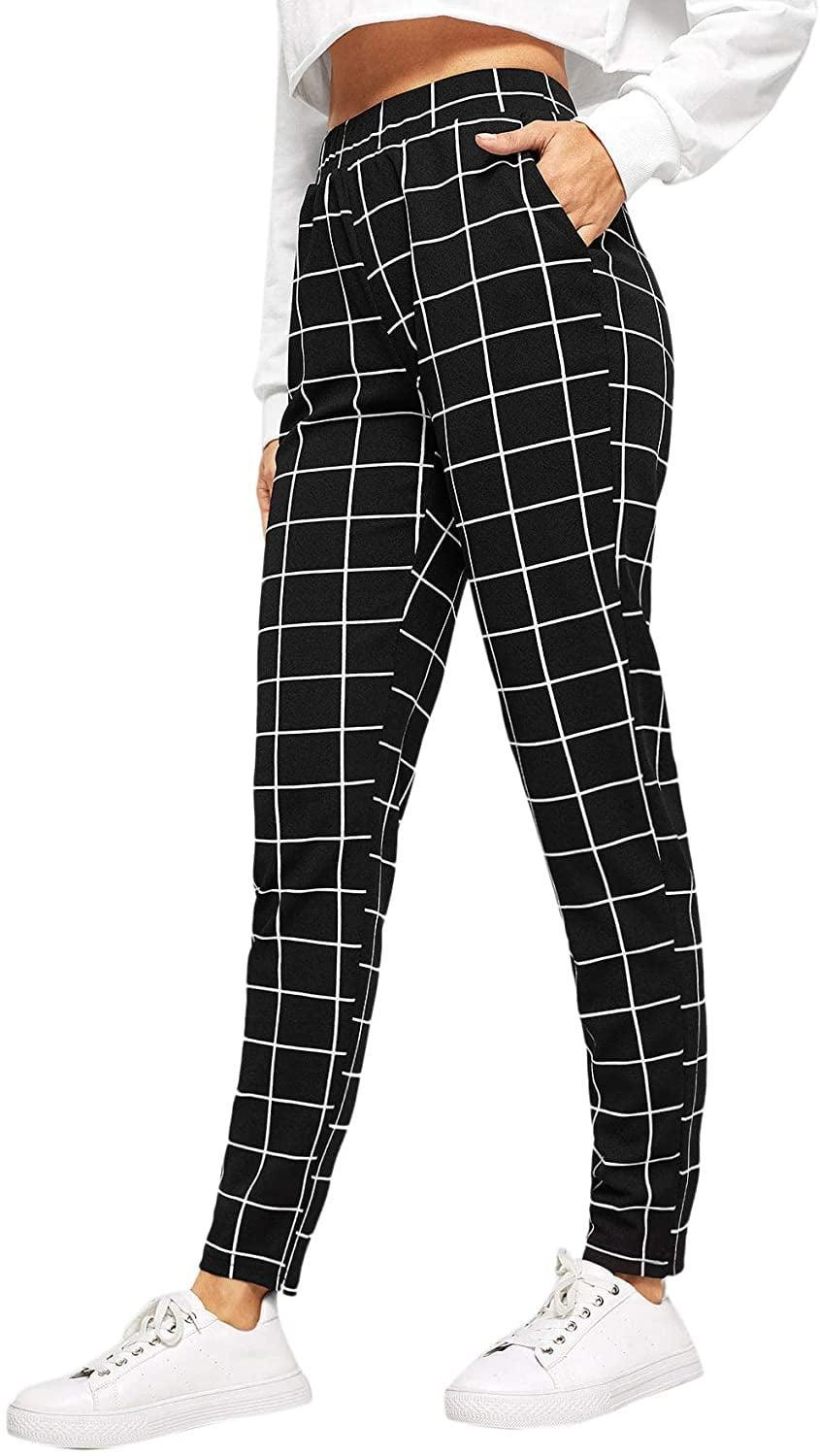 <p>These <span>SweatyRocks Casual High Waist Skinny Pants</span> ($10-$23) come in so many patterns.</p>
