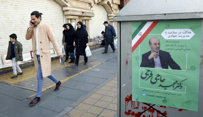 Many Iranian voters feel their lives have been crippled by an economic slump exacerbated by harsh US sanctions since President Donald Trump pulled the United States out of a landmark nuclear deal with the Islamic republic in 2018 (AFP Photo/STR)
