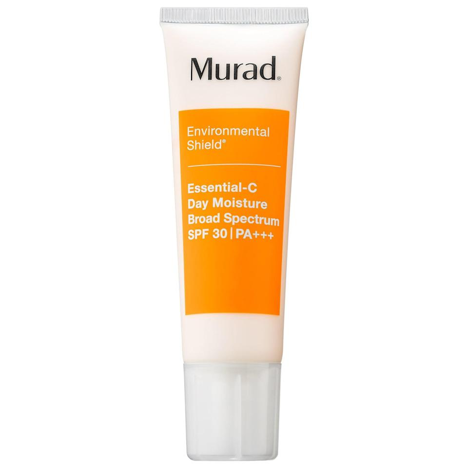 <p>For a daily dose of antioxidants, try the <span>Murad Essential-C Day Moisture Broad Spectrum SPF 30 PA+++</span> ($65). It protects against environmental aggressors.</p>