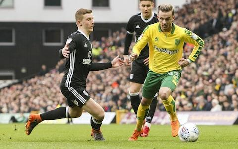 Leicester City have made a £20 million bid for Norwich attacker James Maddison. The former Premier League champions tabled their offer for Maddison on Sunday, it is understood, and are hopeful of winning the chase for the highy-rated star. Everton and Southampton are also keen on the former England U21 international but Leicester have made a serious move with an offer to test Norwich's resolve. Norwich want £25m after add-ons for Maddison, one of the most coveted players in the Championship. Last season the 21 year-old scored 14 goals and delivered eight assists. James Maddison (right) in action for Norwich Credit: getty images Leicester have been weighing up an official bid for weeks but have now made their move after learning of proposed offers from rival Premier League clubs. Claude Puel, the Leicester manager, has already signed Ricardo Pereira and Jonny Evans this summer and the club's owners are prepared to spend big to revamp the squad. Now the east Midlanders are targeting Maddison and want a deal sorted with the Championship club over the next few days.