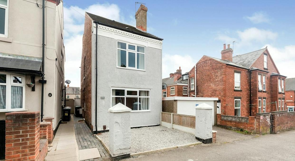 This tiny detached home is thought to be Britain's smallest  (SWNS)