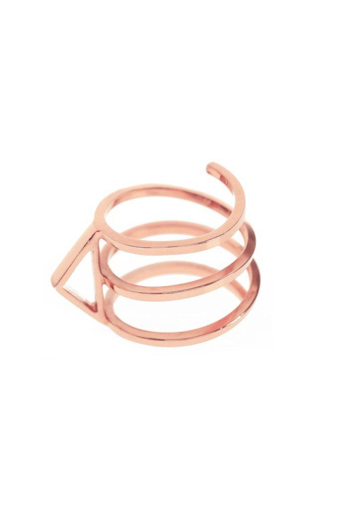 """<p><i><a rel=""""nofollow noopener"""" href=""""http://www.sallylanejewellery.com/products/in-my-defence-rose-gold-ring-for-breast-cancer-awareness"""" target=""""_blank"""" data-ylk=""""slk:[Sally Lane, £140]"""" class=""""link rapid-noclick-resp"""">[Sally Lane, £140]</a></i></p>"""