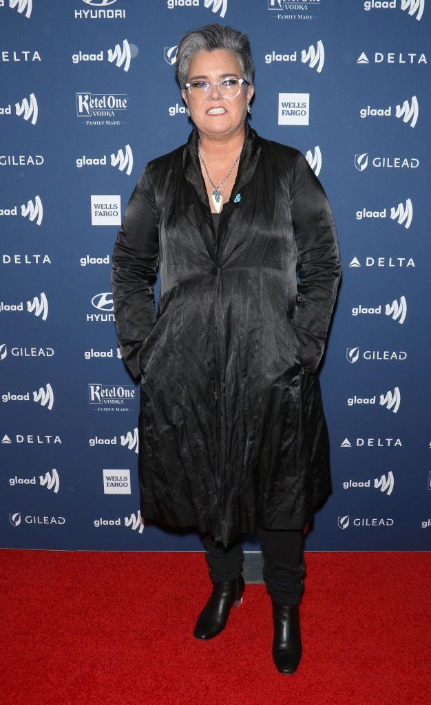 """<p>After suffering a heart attack in 2012, Rosie O'Donnell set out to seriously lose weight. After trying a few diets, she decided to get gastric-bypass surgery in 2013, according to <a href=""""https://abcnews.go.com/Entertainment/rosie-odonnell-talks-life-weight-loss-surgery/story?id=28916208"""" rel=""""nofollow noopener"""" target=""""_blank"""" data-ylk=""""slk:ABC News"""" class=""""link rapid-noclick-resp""""><em>ABC News</em></a>. Since then, the talk show host has lost over 100 pounds.</p>"""