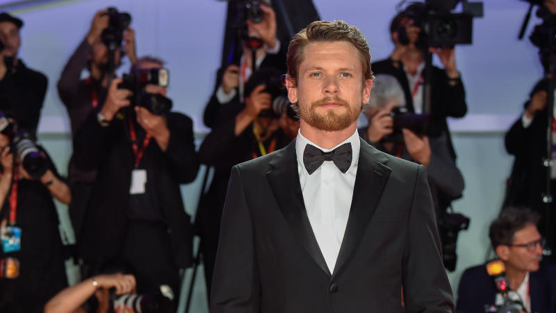 Jack O'Connell at the Venice International Film Festival in 2019 promoting 'Seberg'. (Credit: Marilla Sicilia/Mondadori Portfolio via Getty Images)