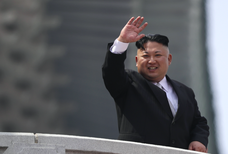 North Korean leader Kim Jong-un (Picture: Rex)