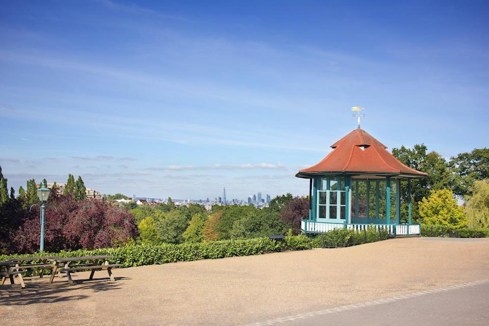 View over London from the Horniman MuseumGetty Images/iStockphoto