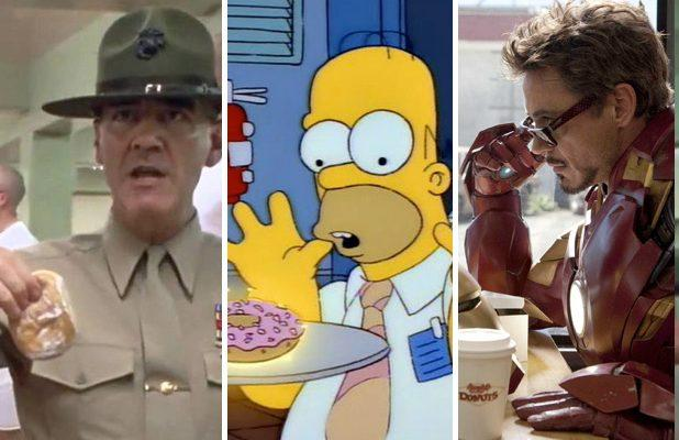 10 Sweetest Donut Scenes in Movies and TV, From 'The Simpsons' to 'Full Metal Jacket' (Videos)