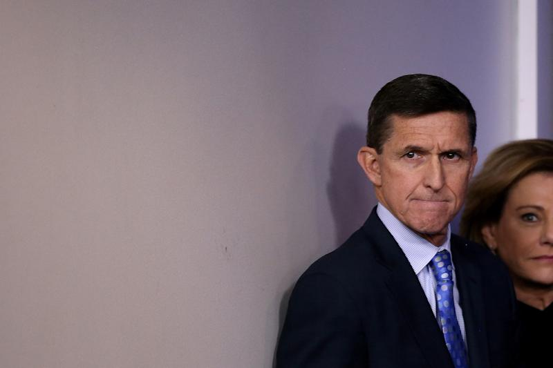 Former national security adviser Michael Flynn could be cooperating with the special counsel's investigation into Russia. (Carlos Barria/Reuters)
