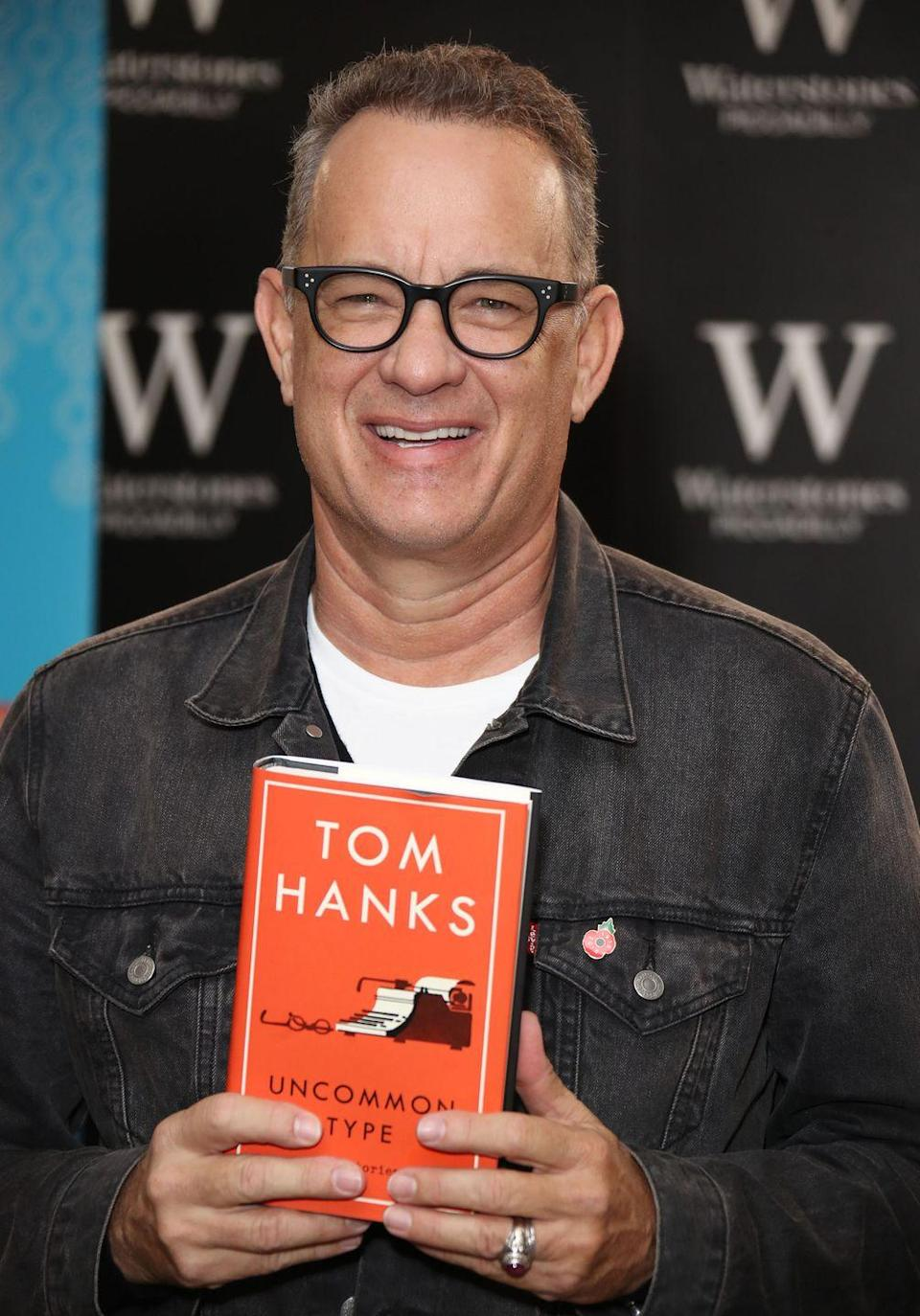 """<p>When you're Tom Hanks learning from acclaimed screenwriter Nora Ephron, it's the best learning from the best.</p><p>The Academy Award winner told <a href=""""https://www.wbur.org/onpoint/2018/11/23/tom-hanks-movies-uncommon-type"""" rel=""""nofollow noopener"""" target=""""_blank"""" data-ylk=""""slk:WBUR"""" class=""""link rapid-noclick-resp"""">WBUR</a> that there was a particular part of the <em>Sleepless in Seattle</em> script that he was """"really cranky about,"""" so he brought it to Nora and fellow screenwriter Delia Ephron (Nora's sister). Before this, Tom had worked on screenplays, but since he wasn't """"coming up with the more detailed bones of structure of a story,"""" he didn't count that as real writing. The <em>Forrest Gump</em> star ended up doing a major rewrite with Nora and Delia, and when the film was released, Nora told him, """"You wrote that.""""</p><p>The rest, as they say, is history. Tom went to release a collection of short stories, <em>Uncommon Type</em>, in 2017.</p><p><a class=""""link rapid-noclick-resp"""" href=""""https://go.redirectingat.com?id=74968X1596630&url=https%3A%2F%2Fwww.gettyimages.com%2Fdetail%2Fnews-photo%2Ftom-hanks-signs-copies-of-his-new-book-uncommon-type-at-news-photo%2F869300482%3Fadppopup%3Dtrue&sref=https%3A%2F%2Fwww.womenshealthmag.com%2Flife%2Fg33987725%2Fcelebrities-who-wrote-fiction-books%2F"""" rel=""""nofollow noopener"""" target=""""_blank"""" data-ylk=""""slk:Buy the Book"""">Buy the Book</a></p>"""