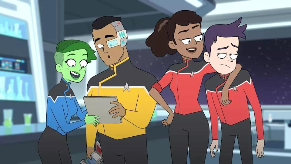 The animated hit Lower Decks was inspired by on often forgotten episode of The Next Generation.