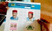 Two political stalwarts, Mohamed Bazoum (L) and Mahamane Ousmane, are in the runoff to succeed president Mahamadou Issoufou