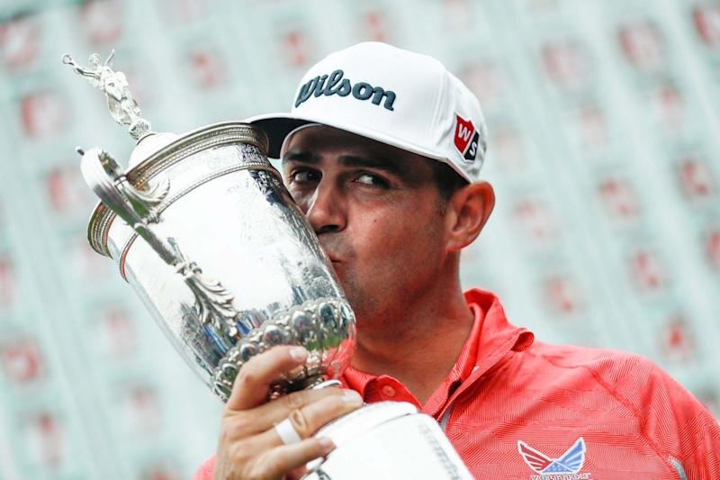 Gary Woodland harnesses Brooks Koepka comparisons to claim maiden Major title