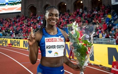 <span>All eyes will be on Britain's Dina Asher-Smith to see what she can achieve in Doha</span> <span>Credit: GETTY IMAGES </span>