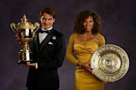 Roger Federer and Serena Williams turn 40 later this year and try to defy age by seeking a ninth men's Wimbledon singles title and equal Margaret Court's women's Grand Slam singles record haul of 24 respectively